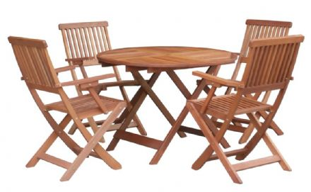 Pagoda Buckingham Wooden Set - 5 Piece